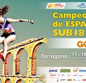 LXIX Campeonato de España Sub18 Aire Libre - Tarragona (SABADO)